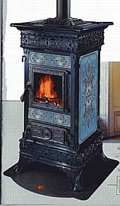 castelmonte carlotta wood burning stove