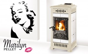 castelmonte marilyn cream and white stove