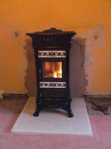 castemonte freestanding stove installation