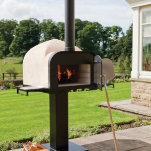 Optional Pizza Oven Side Shelves